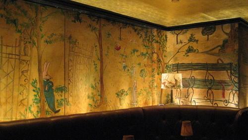 Artslant a stop at bemelmans bar for Bemelmans bar mural
