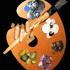 Artistpalletwhandblack