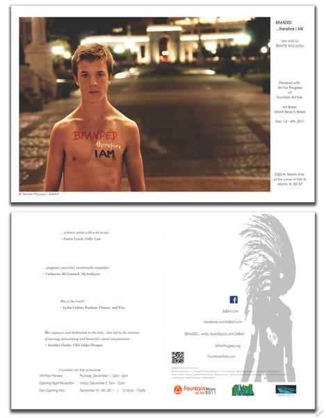 SeBiArt BRANDED postcard