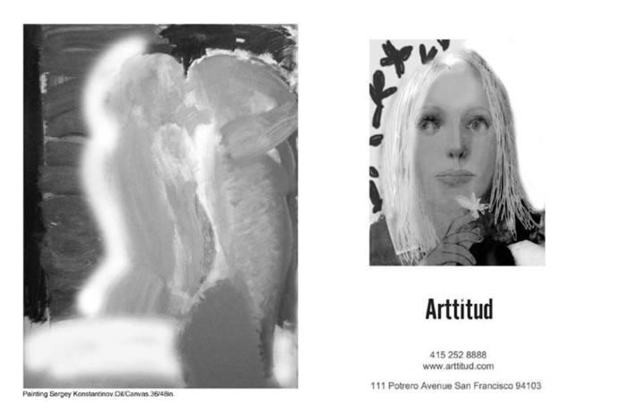 Artist Sergey Konstantinov. Arttitud. Fine Art Gallery. San Francisco.