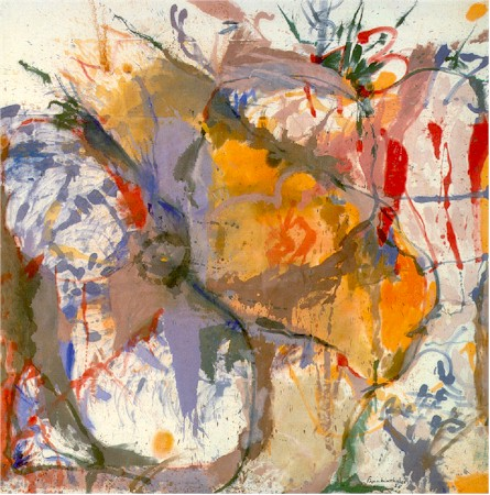 Helen Frankenthaler, Before the Caves,  1958, oil on canvas,