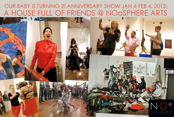 A HOUSE FULL OF FRIENDS: Anniversary Shows and Benefit Auction