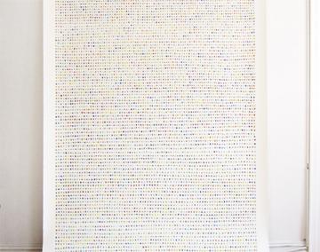 """Valerie Huhn """"Fingerprint Murual"""""""