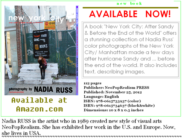 "New York City: A book ""After Sandy & Before the End of the World"""