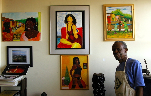 Artist In Studio Gallery