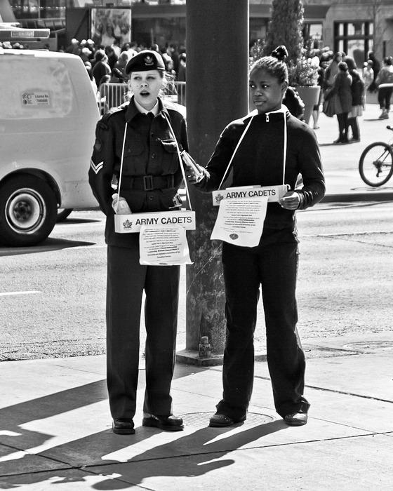 Recruitment Yonge and Dundas Sts Toronto Ontario