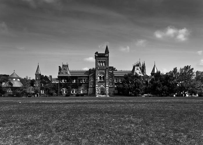 University College Main Building Toronto Canada