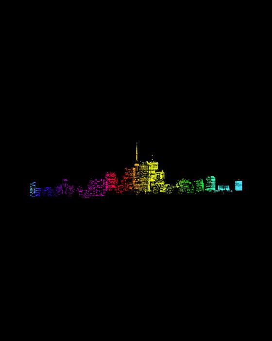Toronto Skyline Gradient