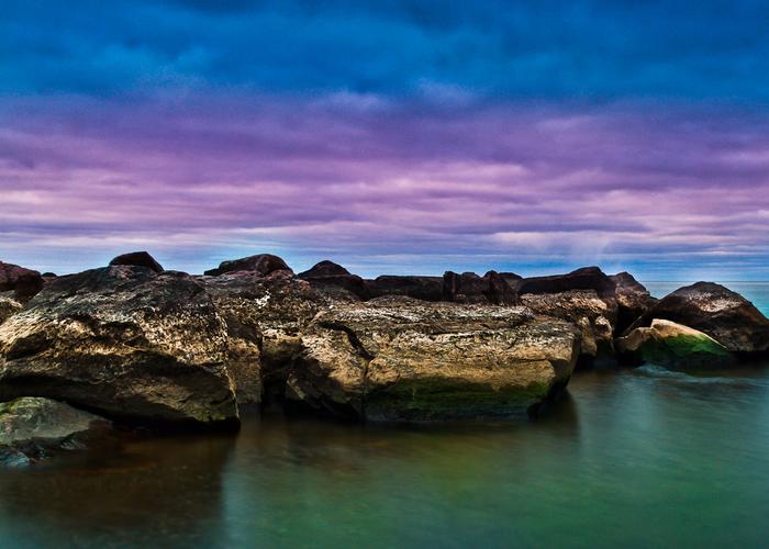 Ashbridges Bay Toronto Canada Sunrise No 14