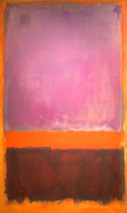 Mark Rothko Untitled 1952 oil on canvas 103 x 62.5 inches