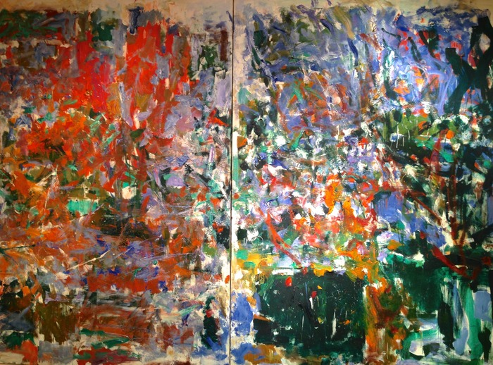 Joan Mitchell Aires de Marion 1975-76 oil on canvas 94.25 x 141.5 inches