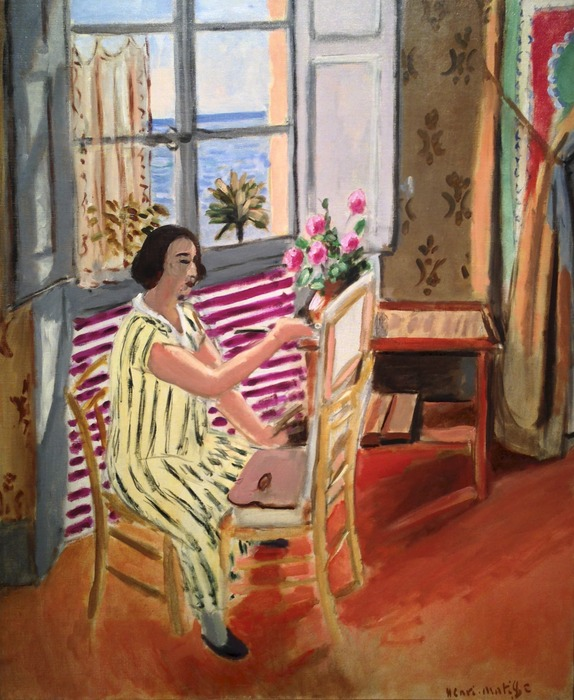 Henri Matisse - La Seancé de matin March 5, 1953 marble height 60 inches
