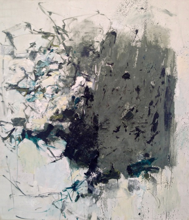 Joan Mitchell First Cypress 1964 oil on canvas 88 x 77 3/4 inches