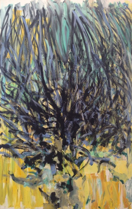 Joan Mitchell Tilleul (Linden Tree) 1978 oil on canvas 110 1/4 x 70 7/8 inches