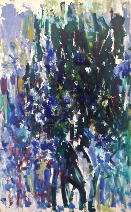 Joan Mitchell Green Tree 1976 oil on canvas 110 x 71 inches
