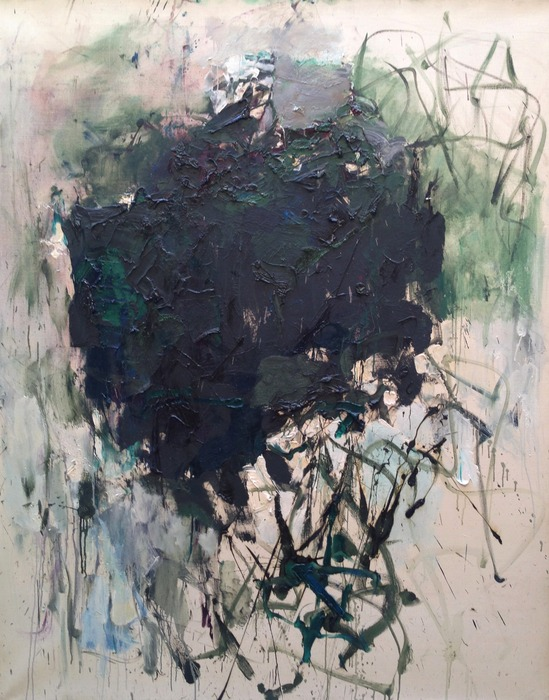 Joan Mitchell Untitled 1977 oil on canvas 63 3/4 x 51 1/8 inches