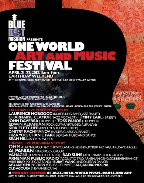 One World Festival Flyer
