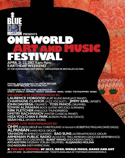 One World Festival Flyer
