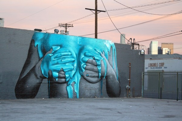 spray paint art on walls - Painting On Walls