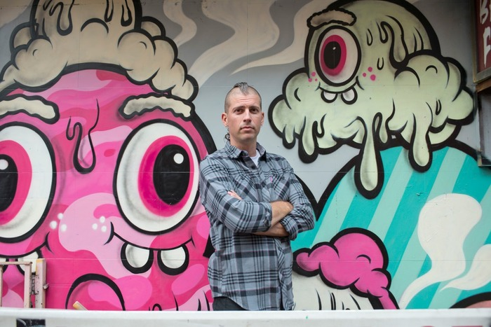 Buff Monster On Artslant Street Art Nerd New York