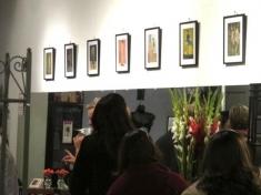 Installation View Camera Club Girls Rudolph Rossi