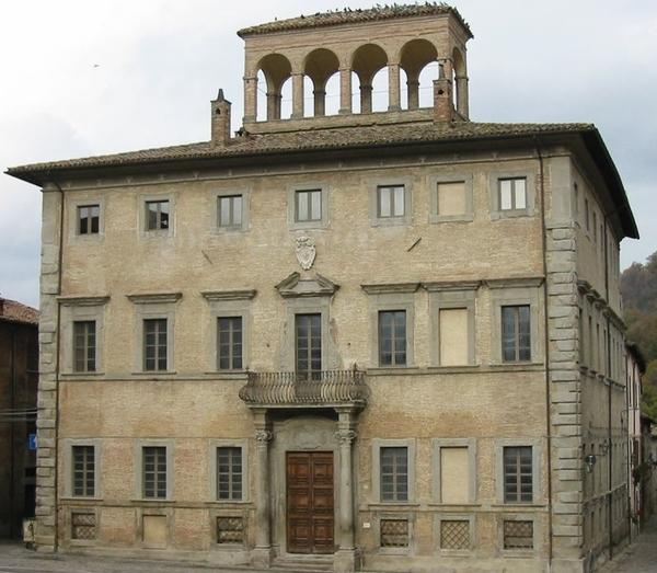 Palazzo Gasparini, Mercatello sul Metauro, Pesaro Urbino, Marche, Italy