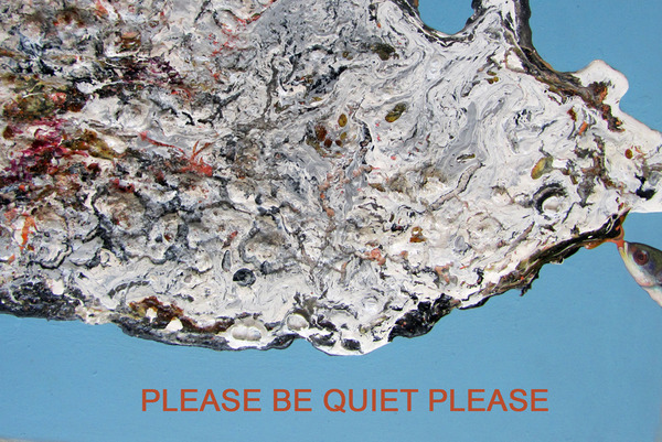 Chris Dennis. Please Be Quiet Please. coup doeil art consortium