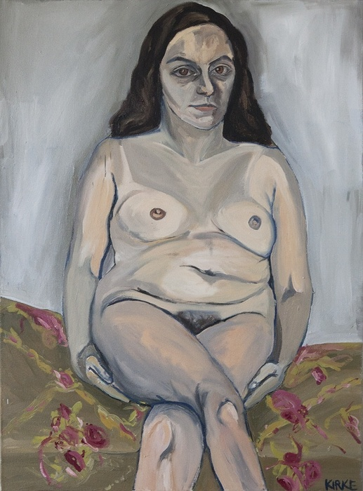 <b>Jemima Kirke</b>, <i>Lena<i/>, 2011, oil on canvas
