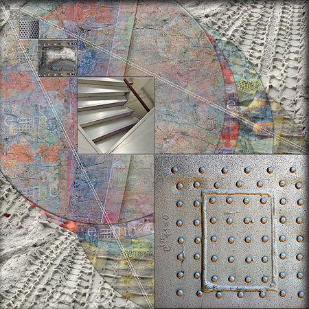 Composición Geométrica Experiencial. (Rivismo - Ramón Rivas / Spain