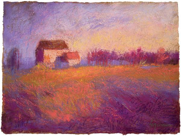 Heartland, pastel,