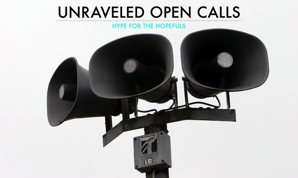 Unraveled Open Calls Title Image