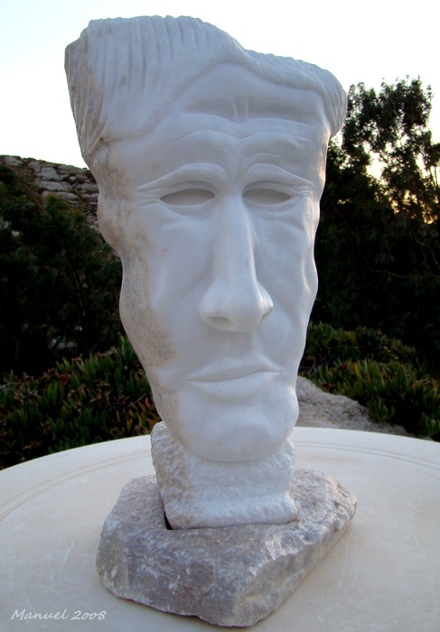 Mask 2008 sculpture
