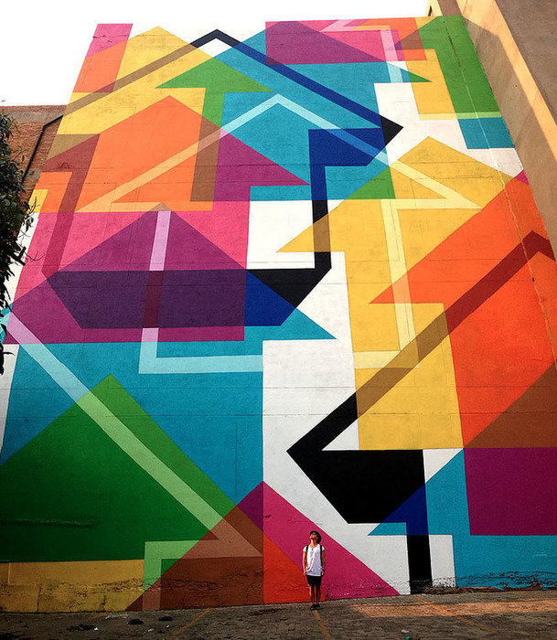 Incognito Mural in Johannesburg, South Africa. October, 2015