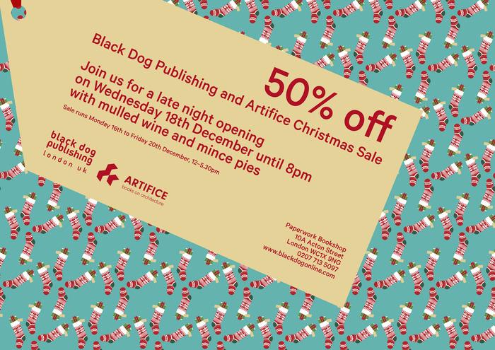 Black Dog Publishing Christmas sale !