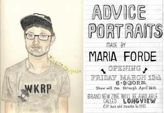 Advice Portrait, Maria Forde