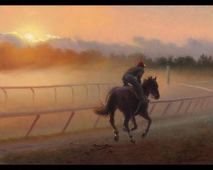 Racing the Mist, Carol Lee Thompson