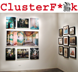 Clusterf*#k, group show at Zg Gallery, Chicago,
