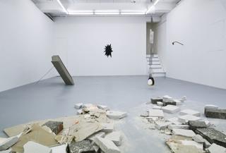 Saved by an Unseen Crack installation view, Marcin Dudek