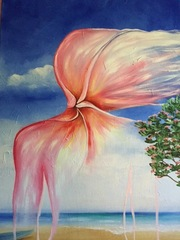 Plumeria series / Beach, Claudette McDermott