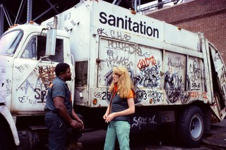 Touch Sanitation Performance, Mierle Laderman Ukeles