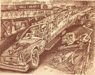 Wallmart, Trevor Lucero