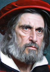 Shylock (Pacino), David Nicholson