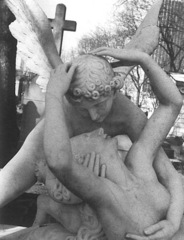 Cupid & Psyche 2 Montparnasse Cemetry, Paris,Patti Smith