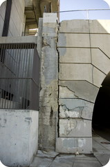 2nd street crack (south entrance 2nd Street tunnel, Los Angeles, CA) ,Ryan Taber