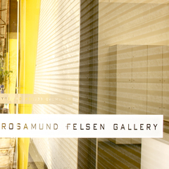 View From Rosamund Felsen Gallery Entry,