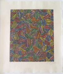 Cicada II (ULAE 214), 1981, Jasper Johns