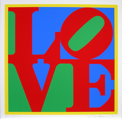 Heliotherapy Love, 1995 ,Robert Indiana