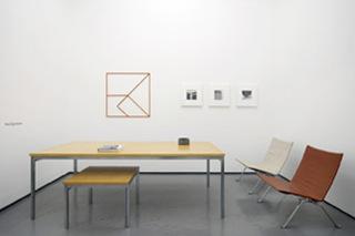 Installation shot, Poul Kjaerholm