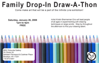 Family Drop-In Draw-A-Thon,