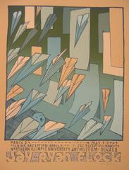 Flock - exhibition poster, Jay Ryan
